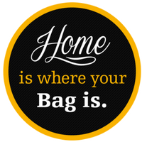 Home Is Where Your Bag Is.